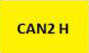 CAN2 H - gelb