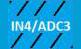 IN4/ADC3 - blau schwarz